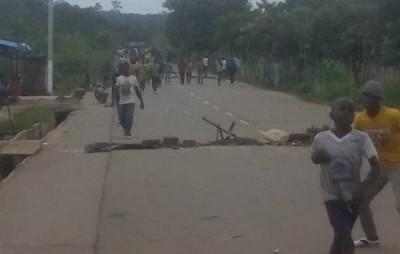 Côte d'Ivoire : Issia, exacerbées par des vols à répétition dans leur localité, des populations saccagent un poste de gendarmerie en guise de protestation