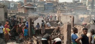 Sierra Leone : Susan's Bay consumé à Freetown, des milliers de personnes sans-abri