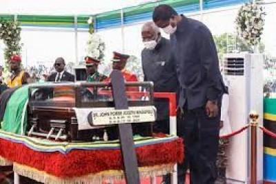 Tanzanie : Le Président John Magufuli inhumé dans sa ville natale