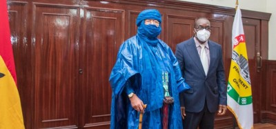 Ghana-Mali :  Le parlement ghanéen soucieux du retour à l'ordre démocratique au Mali