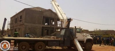 Burkina Faso : Deux morts dans l'effondrement d'un bâtiment R+1