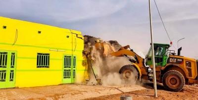 Burkina Faso : Un bâtiment commercial, érigé sur un espace public détruit