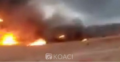 Côte d'Ivoire : Bouaké, un camion citerne explose suite à un choc, la circulation bloquée