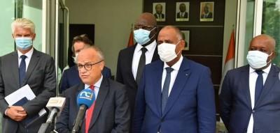 Côte d'Ivoire : Reçu en audience par Patrick Achi, l'Ambassadeur de France assure : « On rentre dans un moment nouveau »