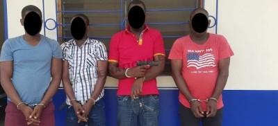 Côte d'Ivoire : Un gang dit spécialisé dans les attaques à mains armées démantelé, un...