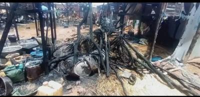 Burkina Faso : Un incendie ravage un camp de déplacés internes dans le Bam
