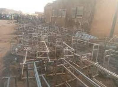Niger : Drame, une vingtaine d'enfants trouvent la mort dans l'incendie d'une école m...