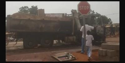 Côte d'Ivoire : Dimbokro, 02 morts suite à une collision entre un camion-benne et un...