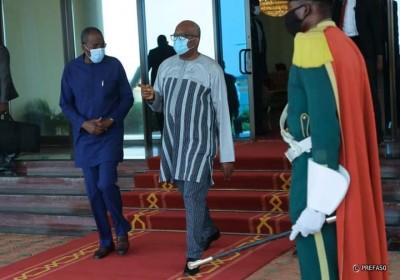 Burkina Faso : Le président Kaboré à Brazzaville pour l'investiture de Denis Sassou N...