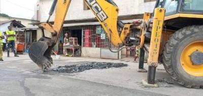 Côte d'Ivoire : Cocody, des travaux de voirie d'une entreprise causent des incidents...