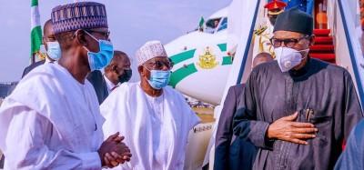 Nigeria :  Buhari de retour après des soins à Londres
