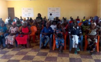 Côte d'Ivoire :    Niakara, en prélude à l'élection législative du 24 avril  2021, un...