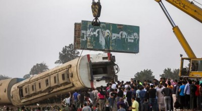 Egypte : 11 morts et près de 100 blessés dans un accident de train