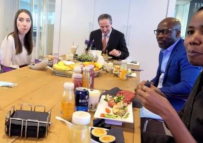 Côte d'Ivoire : Trois semaines après son acquittement définitif, Blé témoigne, sous f...