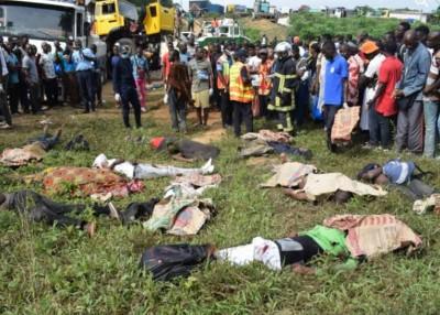 Côte d'Ivoire : Accident  d'Abobo-N'dotré, le bilan passe à 10 morts,  une enquête po...