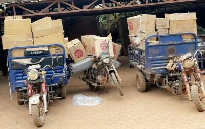 Burkina Faso : Lutte contre la fraude, des médicaments contrefaits et de la cigarette d'une valeur de 55 millions saisis