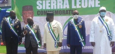 Sierra Leone :  60e anniversaire, appel de Maada Bio à la fraternité, l'APC absente d...