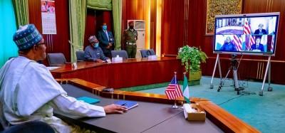 Nigeria-USA :  Buhari réclame la delocalisation du siège de l'AFRICOM en Afrique