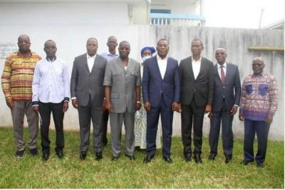 Côte d'Ivoire : Léon Monnet évoque la véritable raison de sa rencontre avec Affi N'Guessan