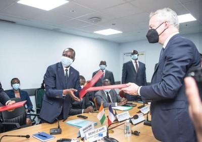 Côte d'Ivoire : En visite à Abidjan, Bruno Le Maire signe un accord pour l'extension de l'aéroport FHB d'Abidjan