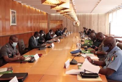 Côte d'Ivoire : Communiqué du conseil national de sécurité du jeudi 29 avril 2021