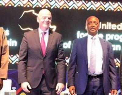 Côte d'Ivoire : Les présidents de la FIFA et la CAF annoncés ce lundi à Abidjan, voici les raisons de la visite