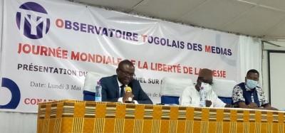 Togo :  Rapport 2021 de l'OTM sur l'état de la presse