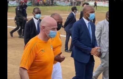 Côte d'Ivoire : Depuis Abobo, Patrice Motsepe lance le championnat panafricain de football interscolaire, 6 milliards FCFA de soutien