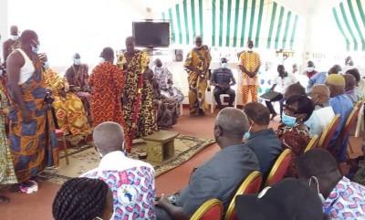 Côte d'Ivoire : Le Roi du Sanwi se dit « disponible » pour accompagner le retour de Gbagbo