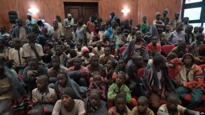 Nigeria : Libération d'une  trentaine d'étudiants, pris en otage en mars par des band...