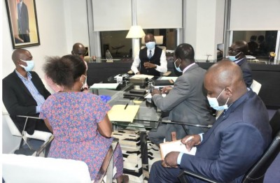 Côte d'Ivoire : Accélération du   processus de mise à disposition des plaques d'immatriculation, l'engagement ferme d'Amadou Koné à la 2GE