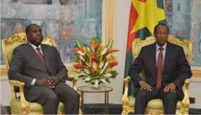 Côte d'Ivoire-Burkina : En visite à Abidjan, Zéphirin Diabré aurait  rencontré Blaise Compaoré