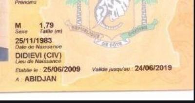 Côte d'Ivoire : Pétitionnaires dont la  CNI expire le 30 juin, un extrait de naissanc...