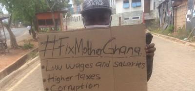 Ghana :  Manifestation virtuelle #FixMotherGhana à défaut d'une première interdite