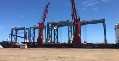 Cameroun : Le port de Kribi doté de  cinq nouveaux portiques de parc pour consolider...