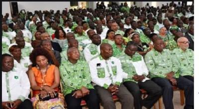 Côte d'Ivoire : Restructuration  du PDCI-RDA, nouveaux vice-présidents et Secrétariat...