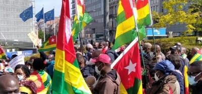 Togo-Belgique :  Une journée de visite et de manifestation des togolais à Bruxelles