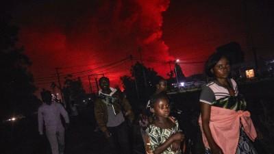 RDC : Panique à Goma après l'éruption du volcan Nyiragongo, 13 morts au moins