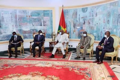 Burkina Faso : UEMOA, le président de la commission reçoit les orientations et conseils du président Kaboré
