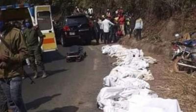 Cameroun : 6 morts et 18 blessés graves dans un spectaculaire accident de la route