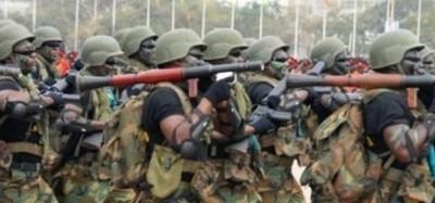 Ghana :  Exercice antiterroriste au nord