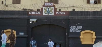 Ghana :  Des prisonniers boudent les « petits repas pauvres » à Sekondi