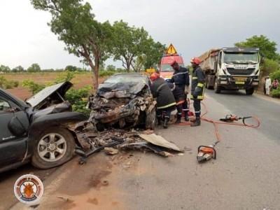 Burkina Faso : Trois morts dans un grrave accident de circulation près de Boromo