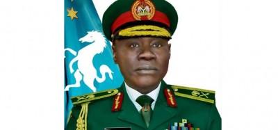 Nigeria :  Le Général Farouk Yahaya nommé nouveau chef d'Etat-major