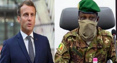 Mali : Emmanuel Macron brandit à nouveau la menace de retirer ses forces du Mali  en cas de « négociation avec les islamistes »