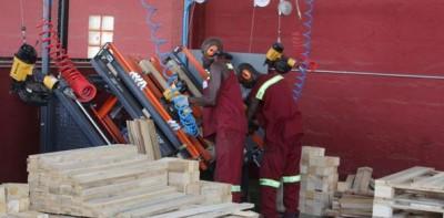 Côte d'Ivoire : PACOCI, première entreprise industrielle à disposer d'un système de montage semi-automatique de palettes