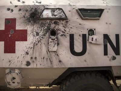 Mali : Des casques bleus repoussent une attaque armée contre leur camp  à Aguelhok