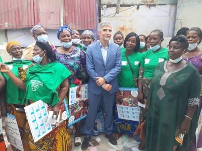 Côte d'Ivoire :    Appui à la résilience du secteur informel, les 5 centrales syndicales lancent une campagne de sensibilisation et d'information sur la CMU dans des marchés d'Abidjan