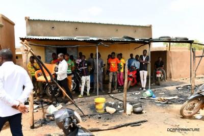 Burkina Faso : Attaque de Solhan, le premier ministre Dabiré sur le site des 132 tués