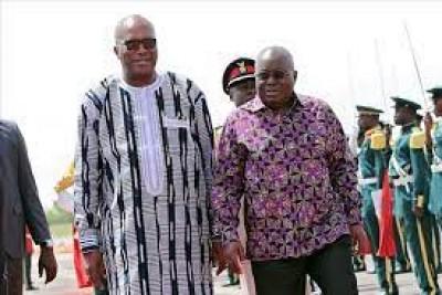 Burkina Faso : Le président ghanéen Nana Akufo-Addo attendu mercredi à Ouagadougou